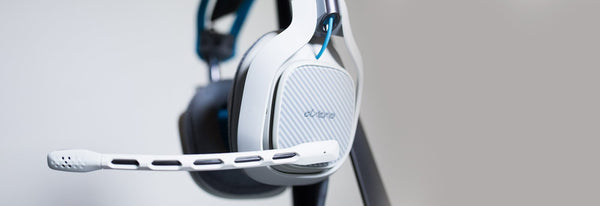 ASTRO Gaming A40 Wired Headset + MixAmp M80 - Light Grey & Blue