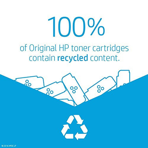 HP BLACK HIGH YIELD LJ TONER CARTRIDGE CF410X
