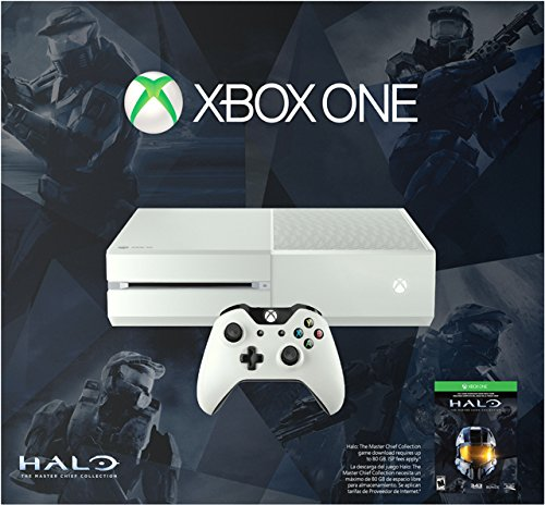XBOX ONE 500GB Console and The Halo Master Chief Game