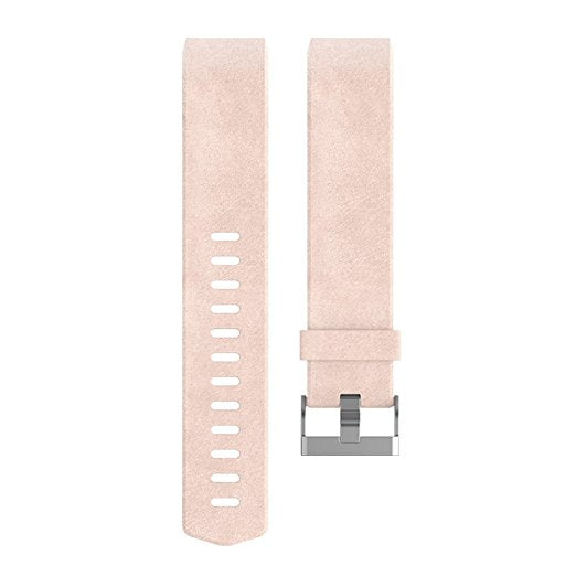 Charge 2 Accessory Band Leather Blush Pink - Small