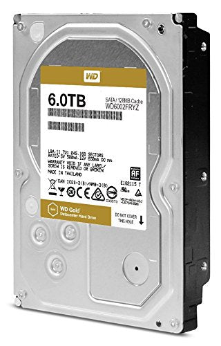 "Western Digital  3.5"" Int HDD 6TB (RE)(Gold)"