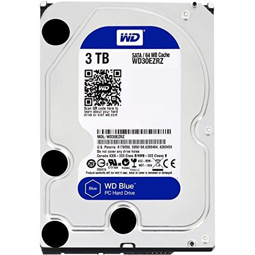 "Western Digital 3.5"" Int HDD 3TB (Blue)"