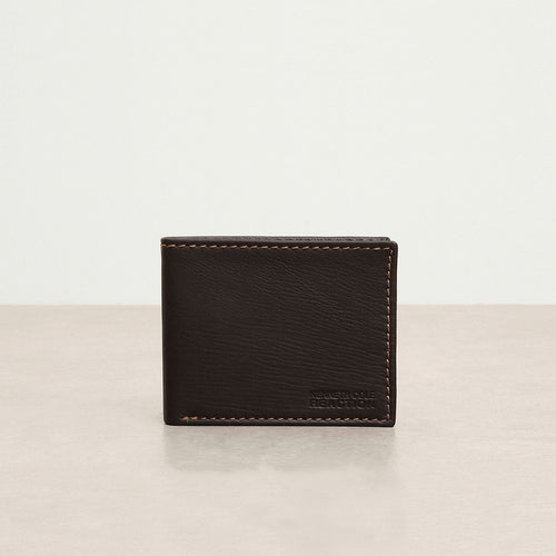 Kenneth Cole Traveler Genuine Leather Bifold Passcase Reaction Wallet *CLEARANCE STOCK SALE*