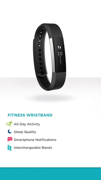 FITBIT ALTA TEAL SILVER - LARGE