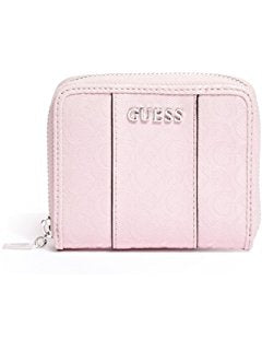 GUESS Factory Women's Ware Patent Logo Small Zip-Around Wallet