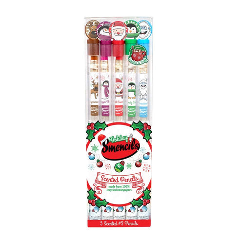 Scentco HOLIDAY SMENCILS SET (OF 5)