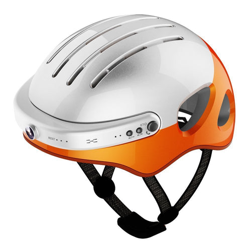 Airwheel intelligent helmets - White/Orange/L