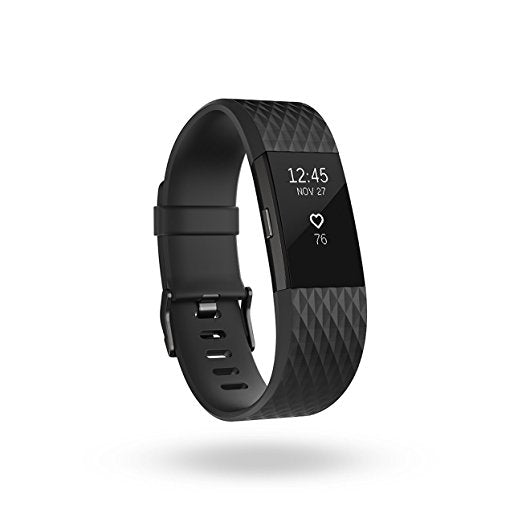 FITBIT CHARGE 2 GUNMETAL - SMALL