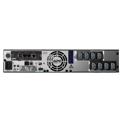 APC Smart-UPS X 1500VA Rack/Tower LCD 230V with Network Card (Ap9631)