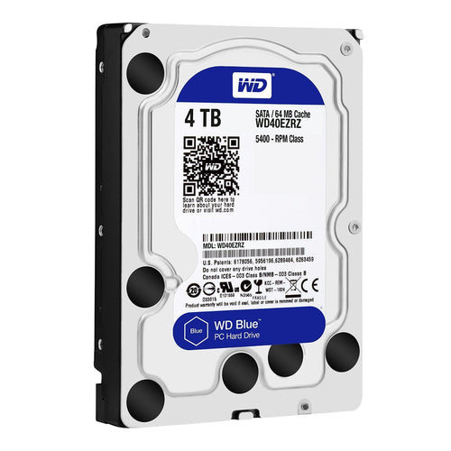 "Western Digital  3.5"" Int HDD 4TB (Blue)"