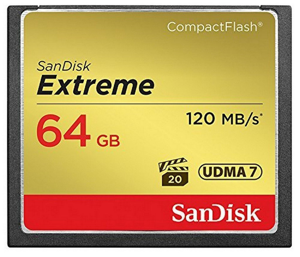 SanDisk Extreme CompactFlash Card 64GB