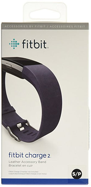 Charge 2 Accessory Band Leather Indigo - Small