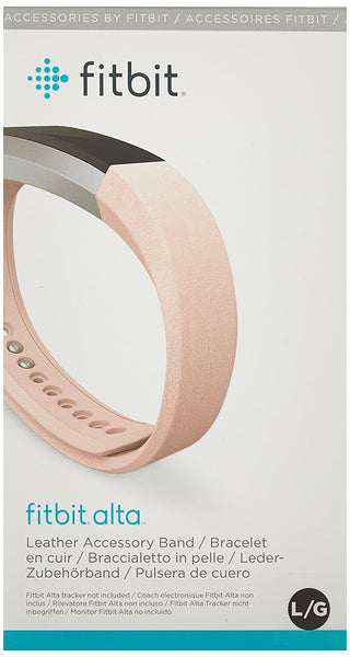 Alta Accessory Band Leather Blush Pink - Large