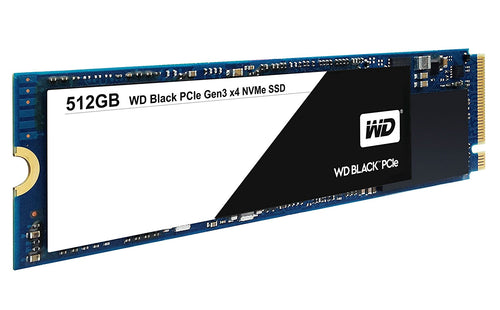 Western Digital Black PCIe 512GB SSD