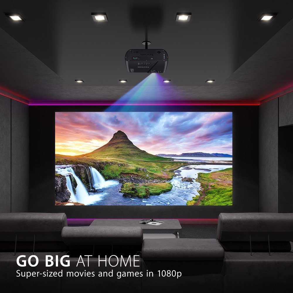 Viewsonic Pjd7720hd 1080p Hdmi Home Theater Projector Zyngroo