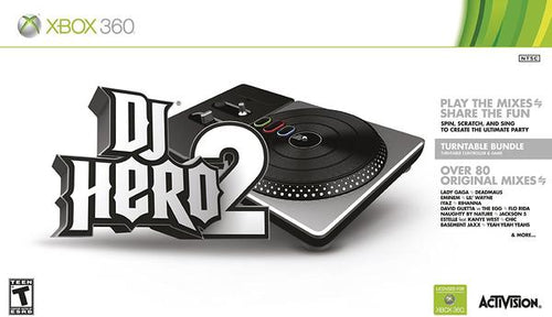XB360 DJ HERO 2 BUNDLE