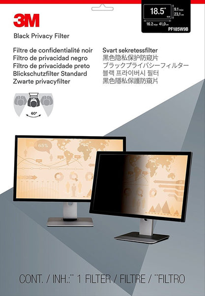 3M - Framed Privacy Filter for 20 in Widescreen Monitor (16:10) (20 Inches) Part # 98044052466