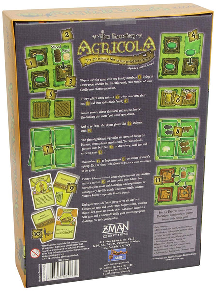 Z-Man Games Agricola