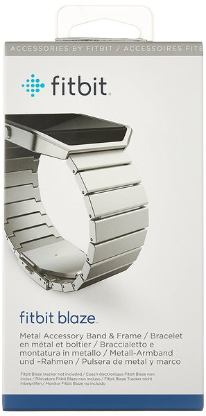 Blaze Accessory Band Metal Link Silver - Standard