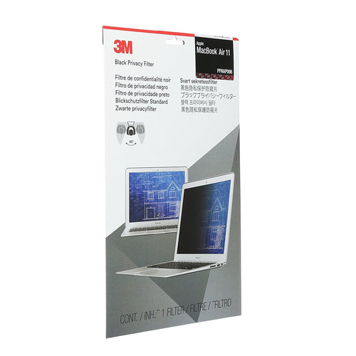 3M™ - Black Privacy Filter for Apple® MacBook Air® 11 Inches