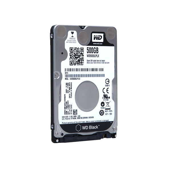 "Western Digital 2.5"" Int HDD 500GB (Black)*"