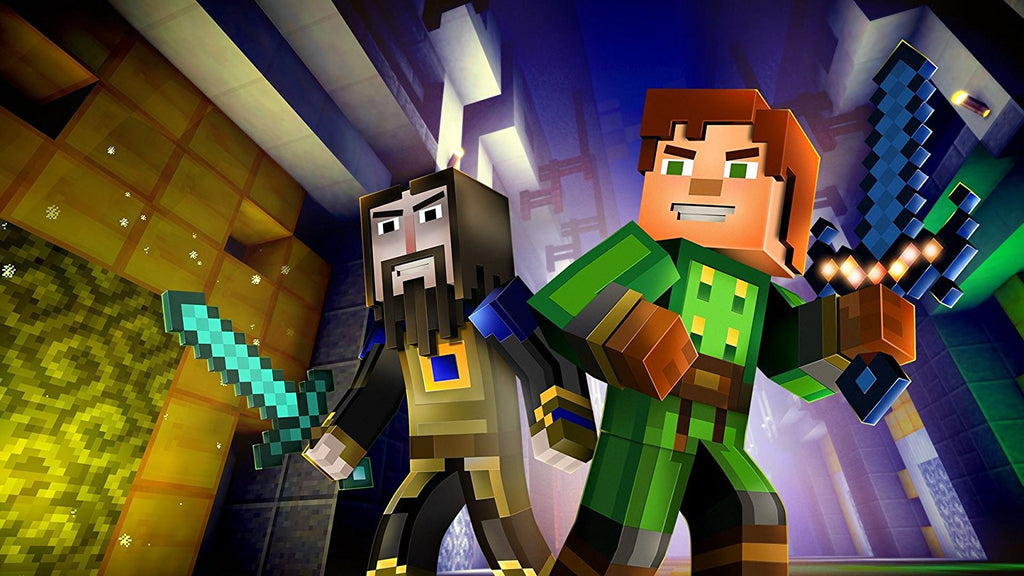 PS4 MINECRAFT: STORY MODE THE COMPLETE ADVENTURE - US/ALL