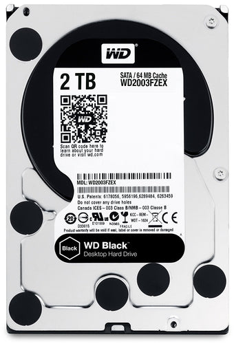 "Western Digital  3.5"" Int HDD 2TB (Black)"