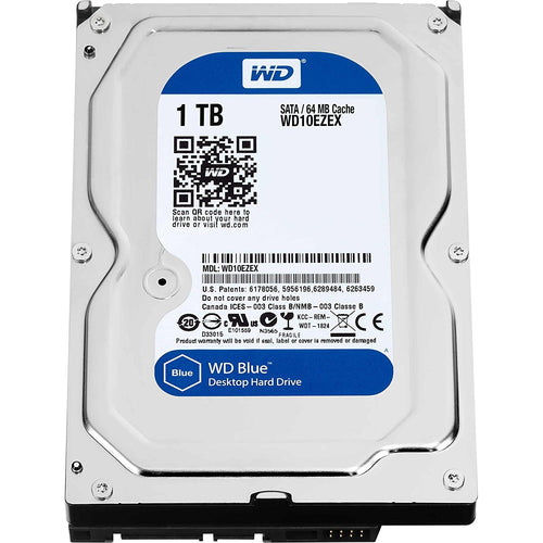 "Western Digital  3.5"" Int HDD 1TB (Blue)"