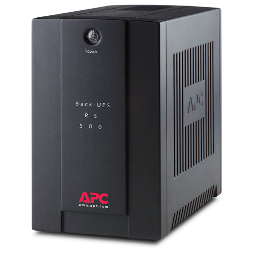APC Back-UPS RS 500, 230V without auto shutdown software, ASEAN