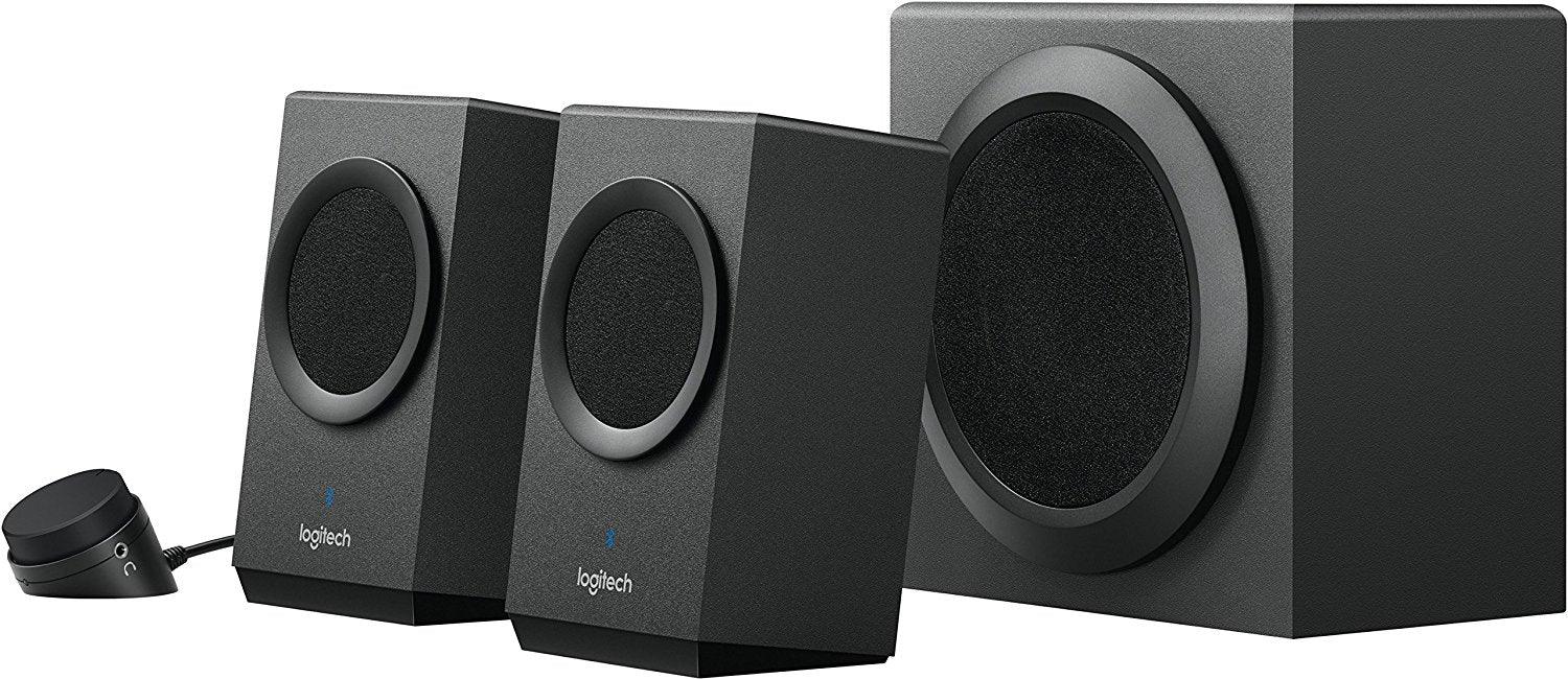 Logitech Z337 Bold Sound With Bluetooth Enabled 21 Pc Speakers New Z120 Speaker 20 Zyngroo