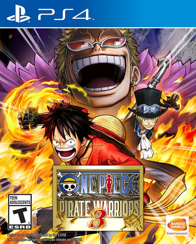 PS4 ONE PIECE: PIRATE WARRIOR 3