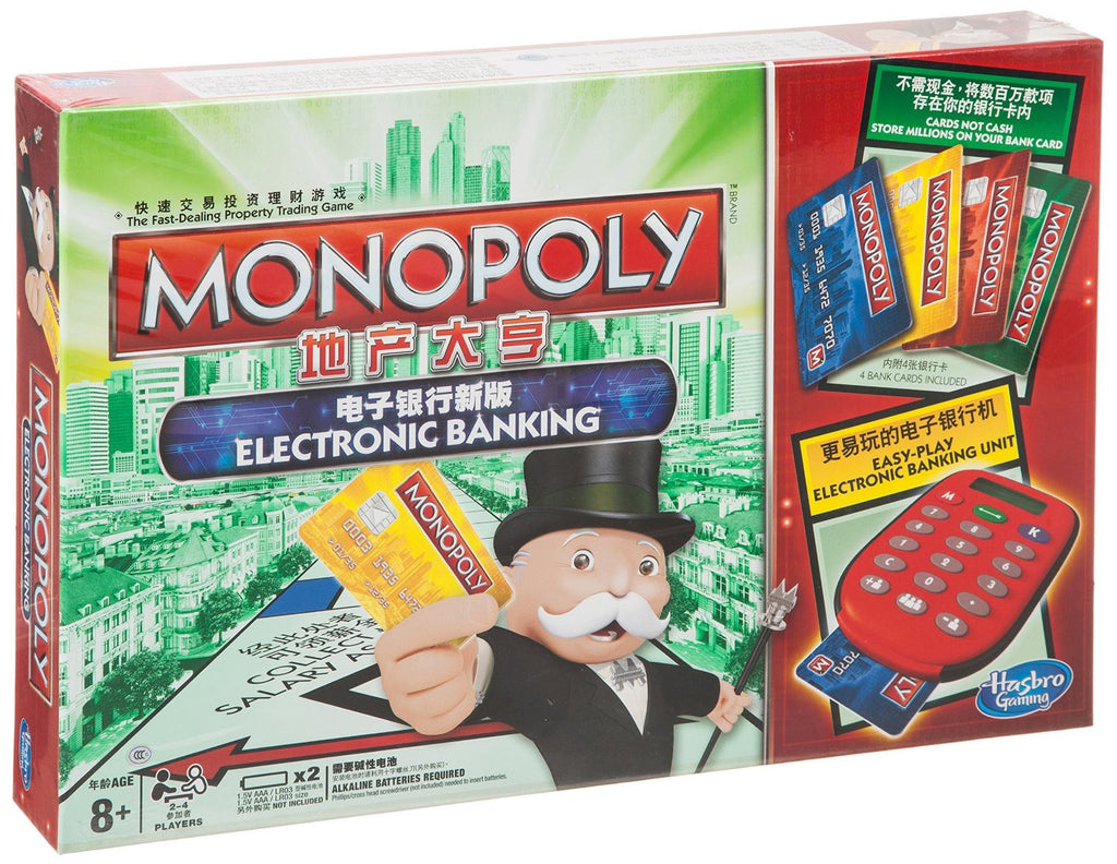 Monopoly e-Banking Indoor Game