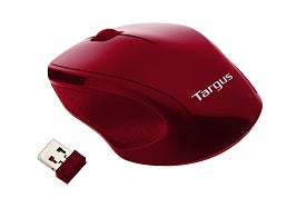 Targus W571 Wireless Optical Mouse (Deep Red)