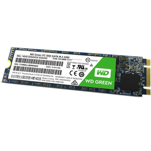 Western Digital SSD Green 120GB