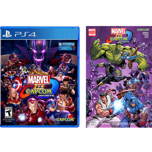 PS4 MARVEL VS. CAPCOM: INFINITE