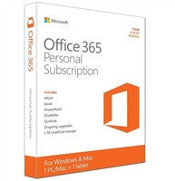 Office 365 Personal English APAC DM-1YR Medialess P2
