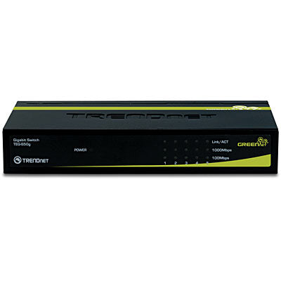 Trendnet 5-Port Gigabit GREENnet Switch /w Metal Case