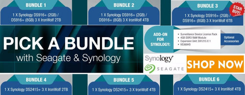 Synology DiskStation DS2415 - 2 TB Bundle 4, 5 & 6