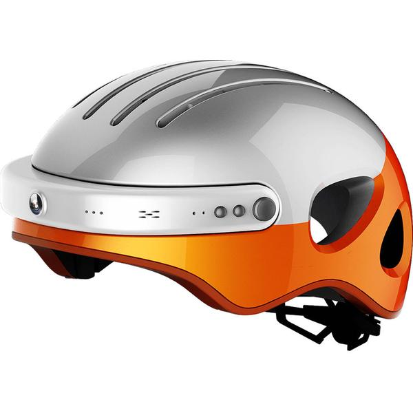 Airwheel intelligent helmets - White/Orange/XL