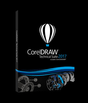 CorelDRAW Technical Suite X7 License (51-250)