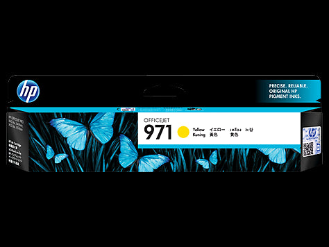 HP 971 YELLOW INK CARTRIDGE CN624AA