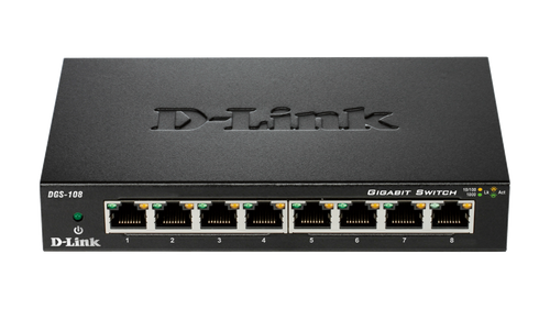 D-Link 8-Port Gigabit Unmanaged Desktop Switch