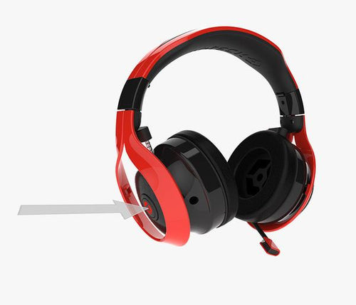 GIOTECK FL-300 GAMING HEADSET & BLUETOOTH SPEAKERS RED