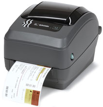 Zebra GX430t Thermal Barcode Label Printer Series 3