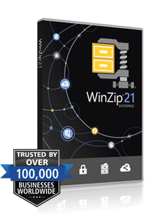 WinZip 21 Enterprise Upg License & Maintenance (1yr) ML (50-99)
