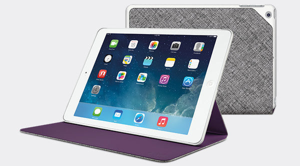 Logitech Hinge Flexible case with any angle stand for iPad Air