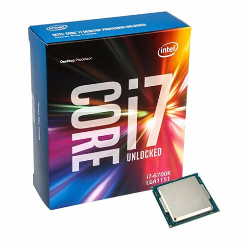 Intel CORE i7-6700K 4.0GHZ SOCKET LGA1151 8MB CACHE