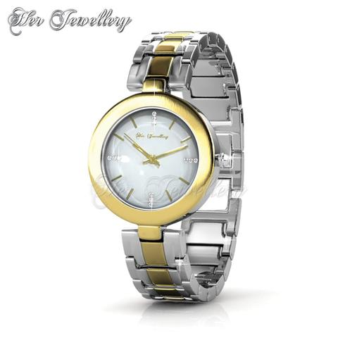 Goldy Watch - Crystals from Swarovski®