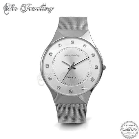 Classic Mesh Watch - Crystals from Swarovski®