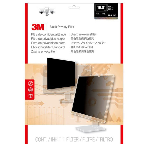 3M - Desktop Privacy Filter PF19.0W Widescreen (19 Inches)
